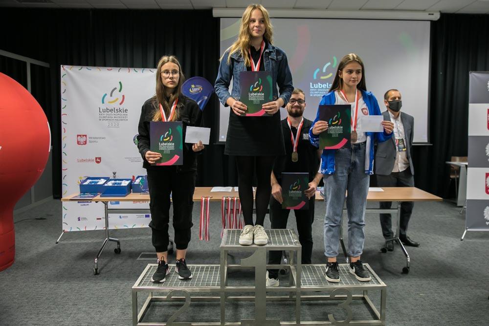 Srebrny medal Marysi Siekańskiej na Mistrzostwach Polski Juniorek do lat 14!